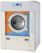 Washer and dryer combined into one machine