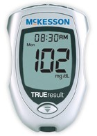 Blood glucose monitor offers quick alternative