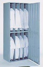 Lockers help prevent facility-borne infections