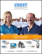 Crest Healthcare releases new product catalog