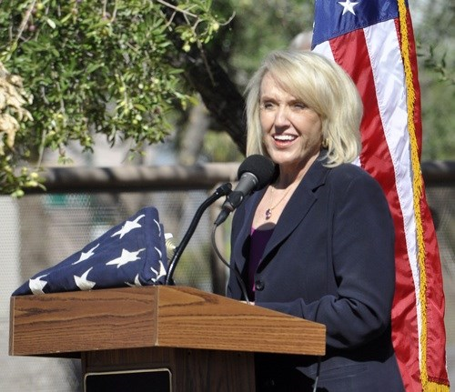 Gov. Jan Brewer, R-AZ
