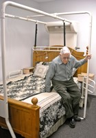 'Friendly' bed gives residents a lift