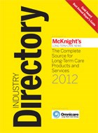 McKnight's Industry Directory named best in the business