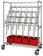 Catheter carts offer various storage, sizes