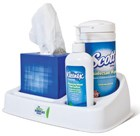 Desk caddy takes germ warfare to a new level