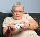 Computer games are helping  people deal with Parkinson's