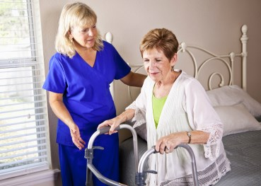 Aides dominate staffing hours across seniors housing and care settings