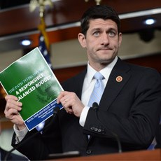 Ryan's budget targets Medicare and Medicaid