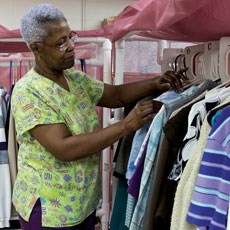 Sorting and delivering laundered clothing is only part of a staff's obligations.