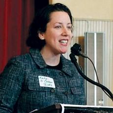 Sen. Kathleen O'Connor Ives (D-Newburyport)