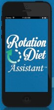 New app helps manage a rotation diet