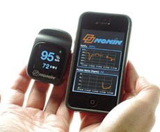 Nonin Medical's pulse oximeter is designed for individuals who want to monitor their pulse rate.