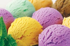 Eating sorbet helps residents eat bigger meals.