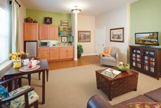 The new continuing care community at Ashby Ponds was carefully designed with a warm, homelike feel.