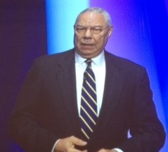 Gen. Colin Powell addressed the AHCA/NCAL annual convention