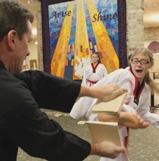 Day in the Life: Taekwondo teens impress