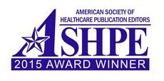 ASHPE award winner 2015