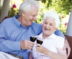 A few drinks a day helps keep dementia away, a new study suggests.