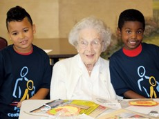 Connecting kids with seniors