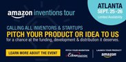 Amazon Inventions Tour, September 25-26 in Atlanta