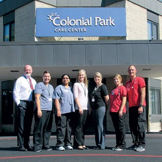 Colonial Park Care Center wins the Gold Award for Transitions