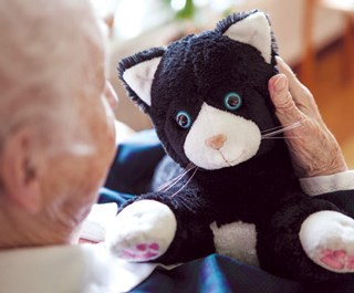 JustoCat was given to residents with dementia in Sweden.