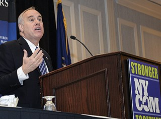 New York Comptroller Thomas DiNapoli says fines need to be issued quicker and more frequently.