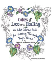 Adult coloring book tackles grief