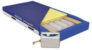 Alternating pressure mattress offers foam design
