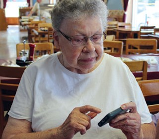 Social media apps appear to let seniors feel connected and less lonely.