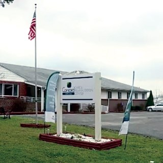 Concord Care and Rehabilitation Center, where the girl was found.