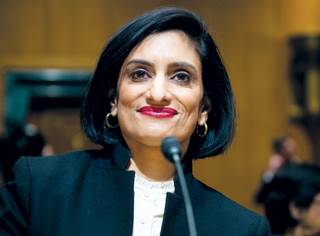 """Medicaid has a """"higher purpose"""" than just handing out cards and financing healthcare, Verma said."""