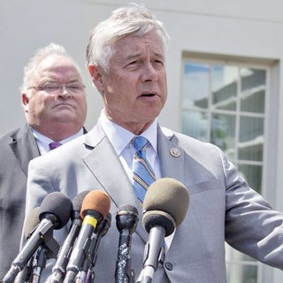Rep. Fred Upton (R-MI) became an influential supporter of the GOP's bill for replacing Obamacare after a supplemental fund for Medicaid was included.