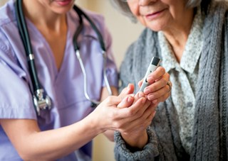 Diabetes affects up to 34% of skilled nursing facility residents, putting them at risk for lower-extremity ulcers.