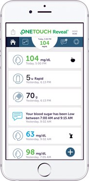 Mobile app updates diabetes management tools