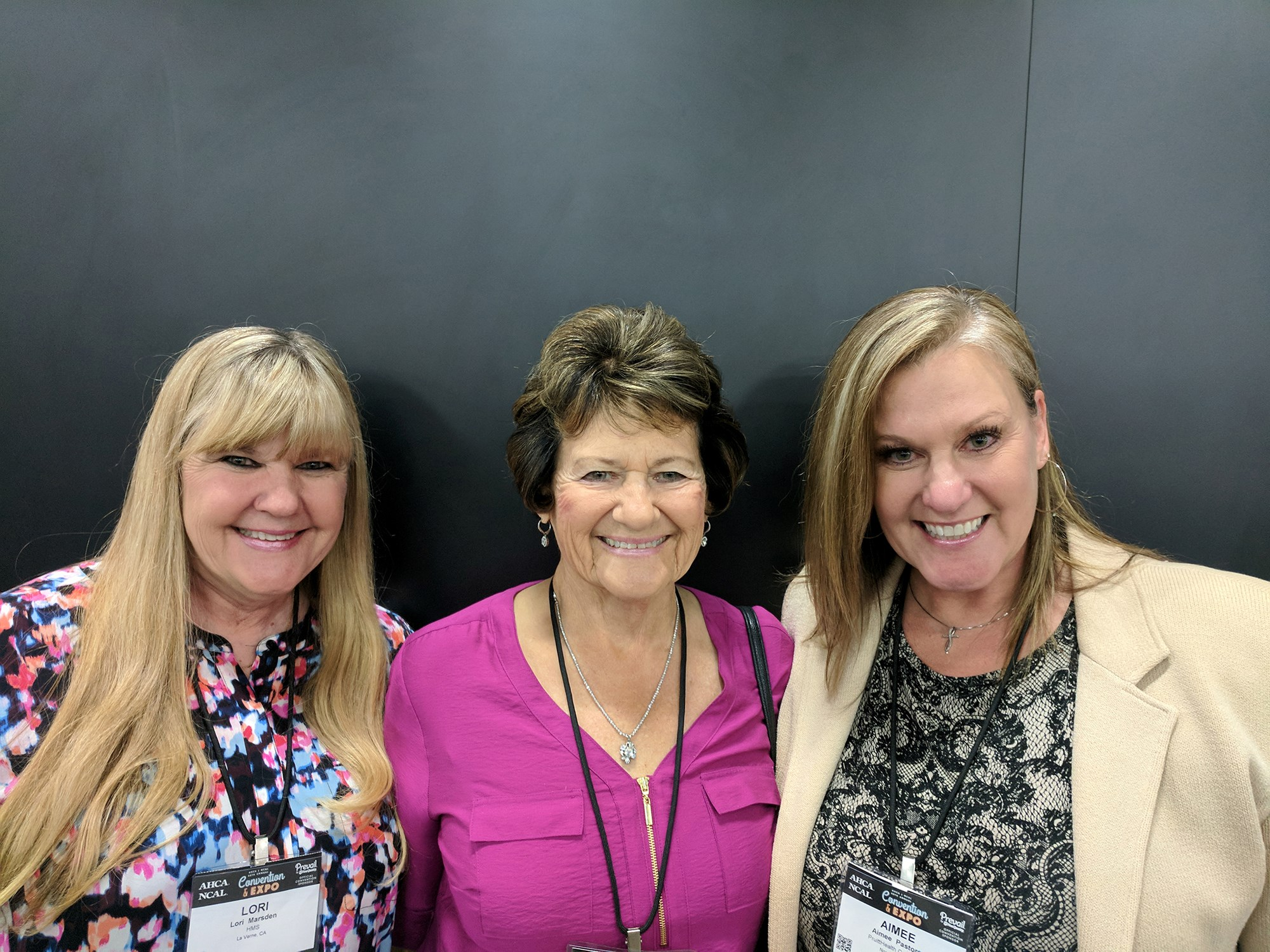 Lori Marsden, Merrilee Taylor and Aimee Pastore