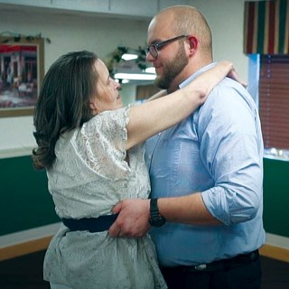 Daring to dream with her team: Resident completes mother-son dance with help from nursing home staff