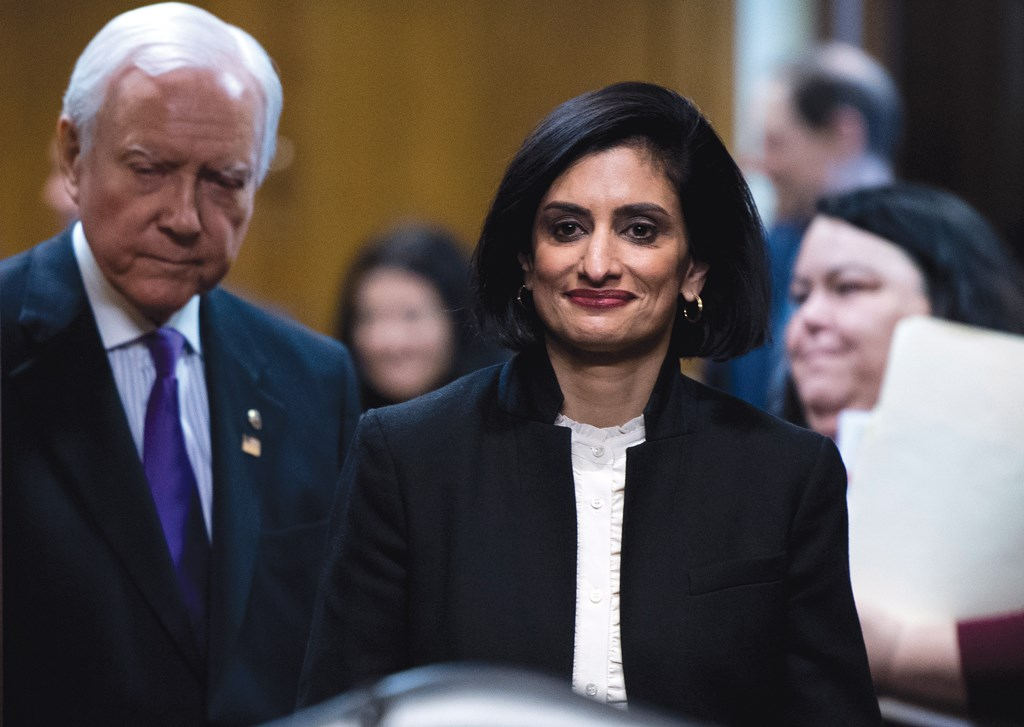 "CMS's Seema Verma called the proposed changes ""important steps ... that will reduce administrative burden and foster innovation to improve care and quality."""