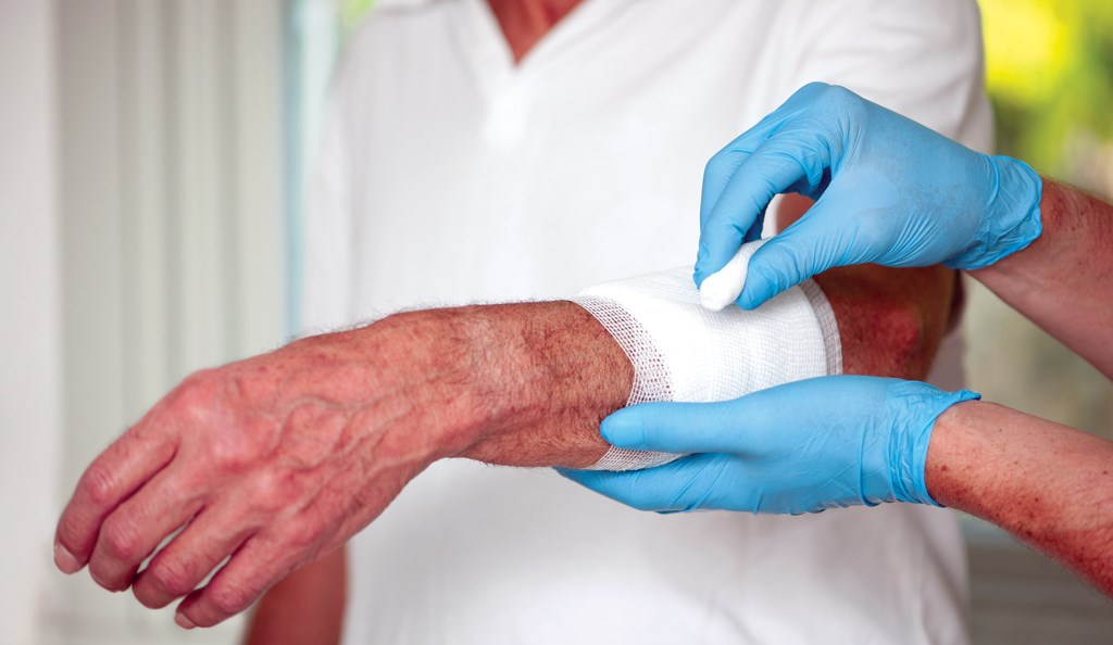 While dressings support wound healing, a holistic approach brings to bear clinical expertise and assessment.