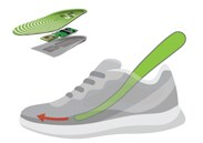 Shoes equipped with GPS tracking