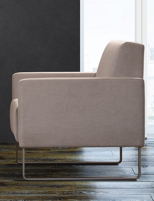 Lounge collection includes sled base