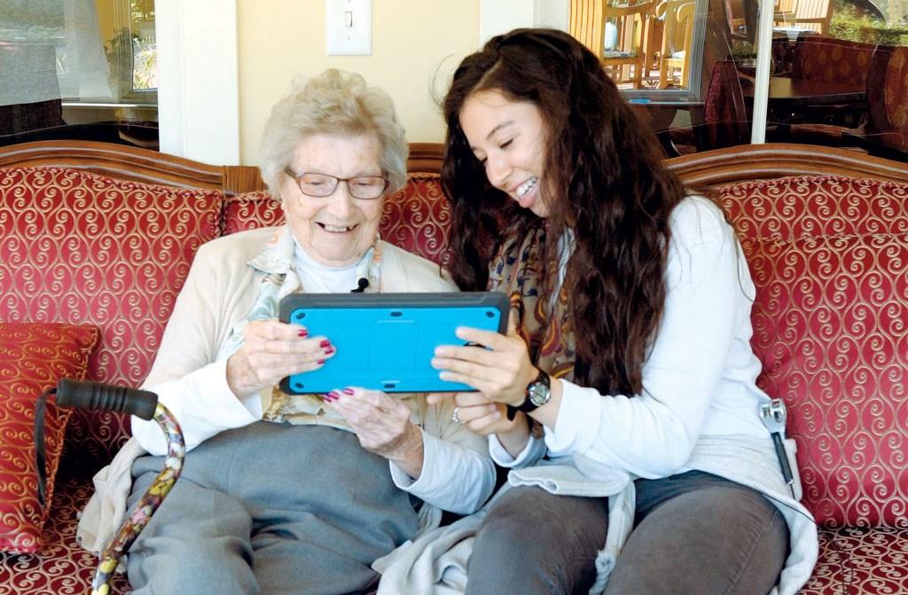 Capturing memories for seniors