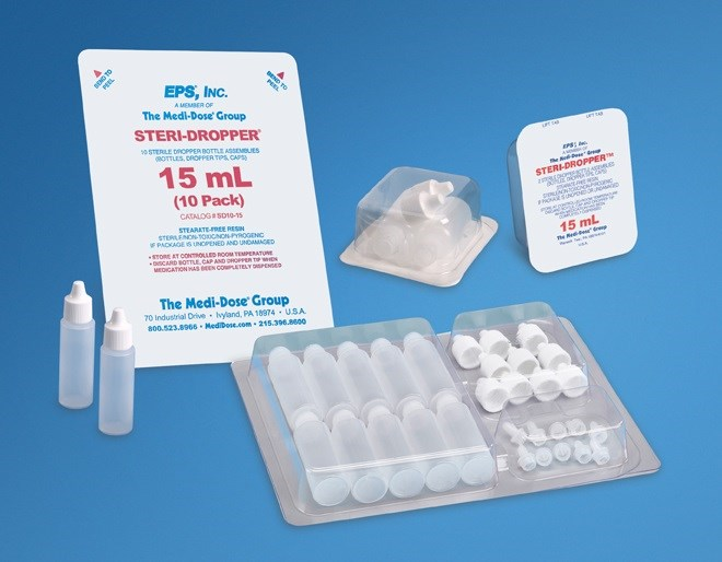 New configuration for dispensing containers