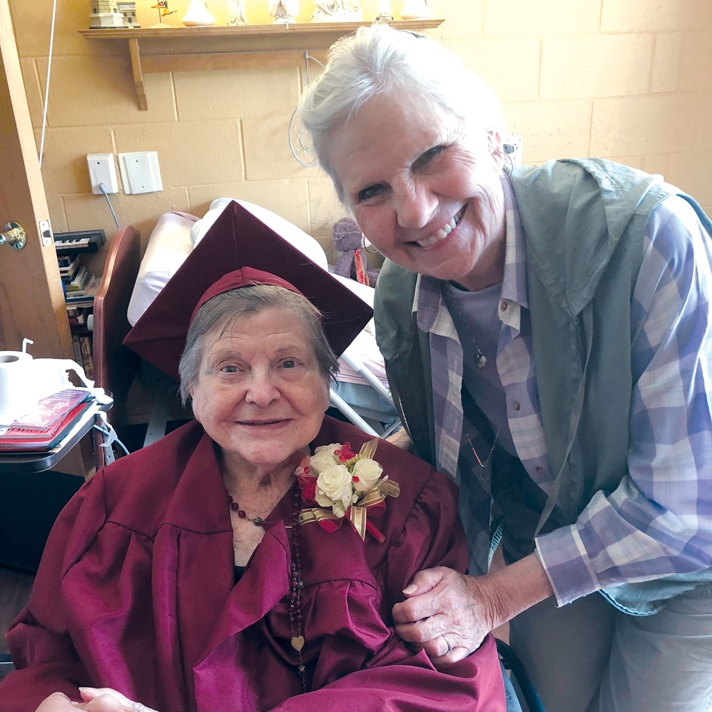 A Day in the Life:Resident gets her diploma at 92